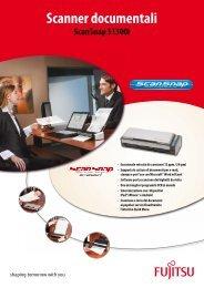 ScanSnap S1300i brochure (italiano) - Fujitsu