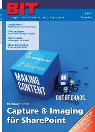 Capture & Imaging für SharePoint - DICOM
