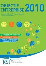 Guide Objectif entreprise 2010 - Maison de l'emploi de Paris