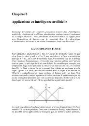 Chapitre 8 Applications en intelligence artificielle