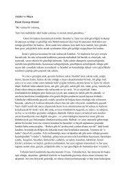 """Azizler ve Mayıs Hazal Zeynep Altunal """"Bir varmış bir yokmuş, Tanrı ..."""