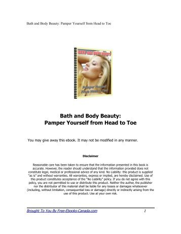 Bath and Body Beauty: Pamper Yourself from Head to Toe