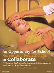 to Collaborate to Collaborate - School Nurse News