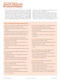 Prevention: - School Nurse News - Page 3