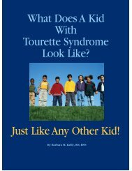 What Does A Kid With Tourette Syndrome Look Like? Just Like Any ...