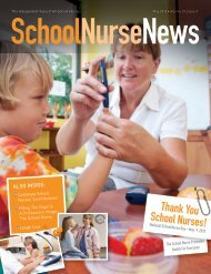 You may also download a pdf of the magazine here - School Nurse ...