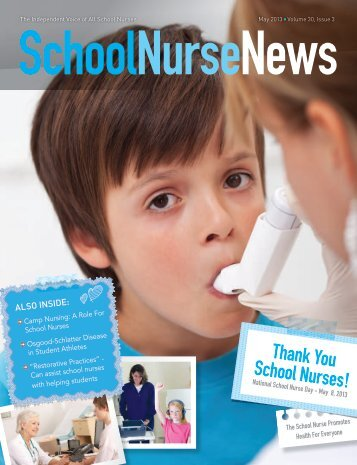 Thank You School Nurses! - School Nurse News
