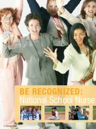 National School Nurse Day is May 9, - School Nurse News