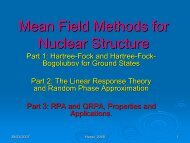 The Random Phase Approximation in Nuclear Physics - IPN