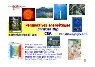 Perspectives énergétiques CEA - IPN