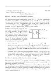 1 M1 Physique Fondamentale (PF) 2010-2011 Magist`ere de ... - IPN