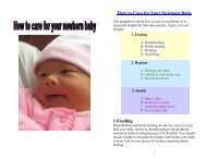 How To Take Care of Your Newborn Baby - Charles B. Wang ...