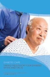 TAKING INSULIN FOR YOUR DIABETES - Charles B. Wang ...