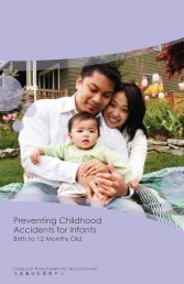 Preventing Childhood Accidents for Infants - Charles B. Wang ...