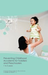 Preventing Childhood Accidents for Toddlers and Preschoolers