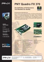 PNY Quadro FX 370