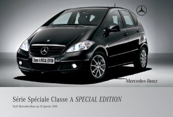 special edition - Mercedes-Benz France