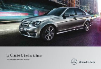 La Classe C Berline & Break - Mercedes-Benz France