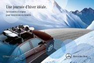 Une journée d'hiver idéale. - Mercedes-Benz France