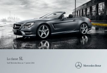 Tarif SL (PDF) - Mercedes-Benz France