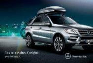 Les accessoires d'origine pour la Classe M. - Mercedes-Benz France