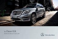 Tarif GLK (PDF) - Mercedes-Benz France