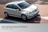 B CONTACT:Tarif - Mercedes-Benz France