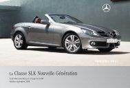 La Classe SLK Nouvelle Génération - Mercedes-Benz France