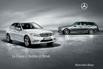 La Classe C Berline et Break - Mercedes-Benz France