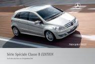 B EDITION_Tarif - Mercedes-Benz France