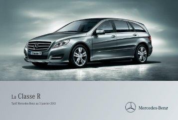 Tarif Classe R (PDF) - Mercedes-Benz France