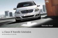 La Classe B Nouvelle Génération - Mercedes-Benz Deutschland