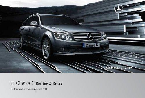 La Classe C Berline Break Mercedes Benz France