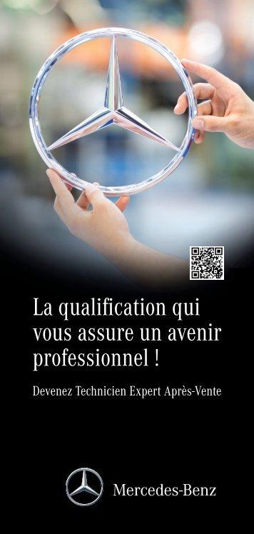 Téléchargez la brochure Ecoles Après-Vente Mercedes-Benz (PDF)