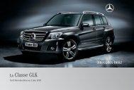 14 - GLK:Tarifs - Mercedes-Benz France