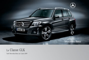 14 - GLK:Tarifs - Mercedes-Benz France