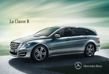 La Classe R - Mercedes-Benz France