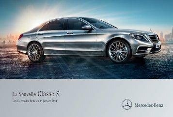 Tarif Classe S (PDF) - Mercedes-Benz France