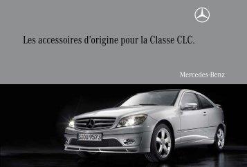 Les accessoires d'origine pour la Classe CLC. - Mercedes-Benz ...