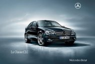 La Classe CLC - Mercedes-Benz France