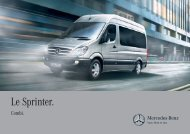 Brochure Sprinter Combi - Mercedes-Benz France