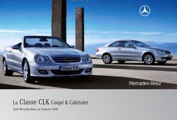 La Classe CLK Coupé & Cabriolet - Mercedes-Benz France