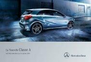 Tarif Classe A (PDF) - Mercedes-Benz France