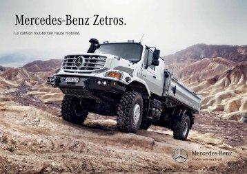 ZETROS Tout Terrain (2915 KB, PDF) - Mercedes-Benz France