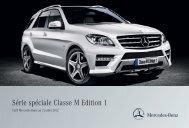 la Classe M Edition 1 - Mercedes-Benz France