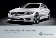 Classe CL Grand Edition - Mercedes-Benz France