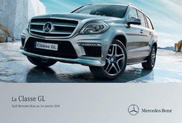 Tarif Classe GL (PDF) - Mercedes-Benz France