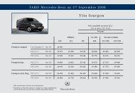Vito fourgon 07-2005 - Mercedes-Benz France