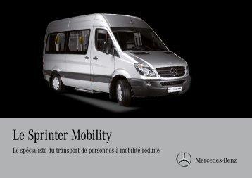Le Sprinter Mobility - Mercedes-Benz Deutschland