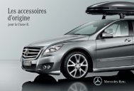 Les accessoires d´origine pour la Classe R - Mercedes-Benz France